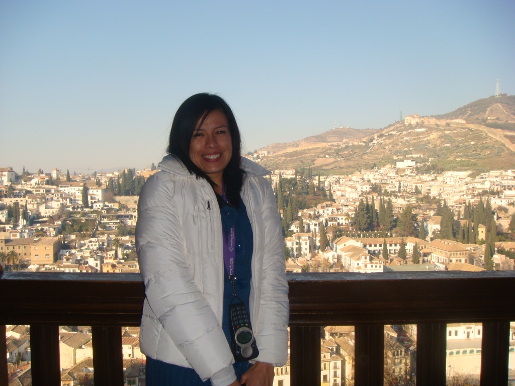 At the Alhambra in Granada, Spain 2007