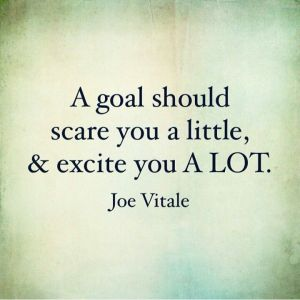 Credit: http://thedailyquotes.com/a-goal-should-scare-you/